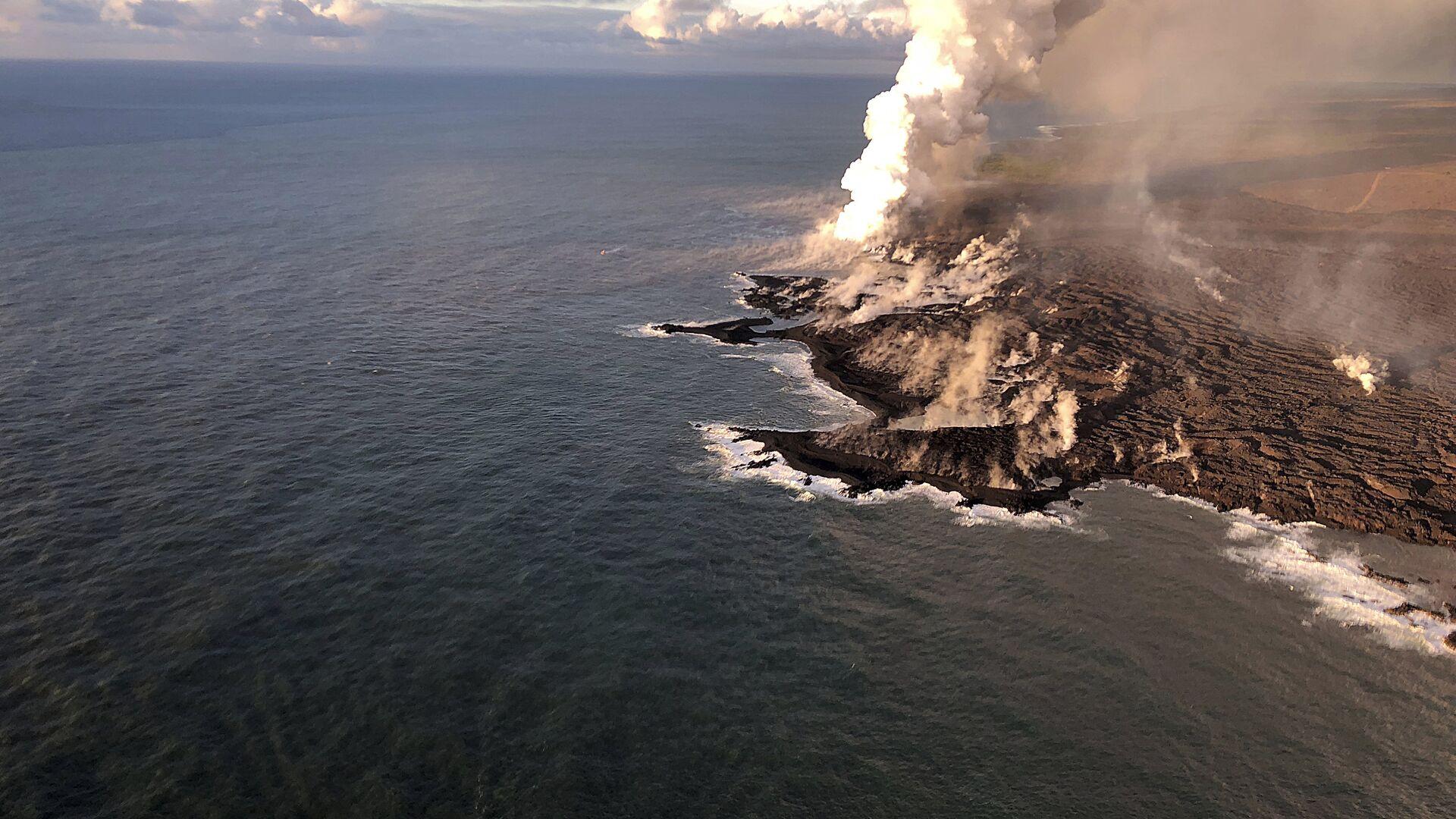 Ситуация на Гавайях после извержения вулкана - РИА Новости, 1920, 31.07.2020