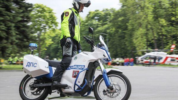 Московская полиция получила ИЖ Пульсар