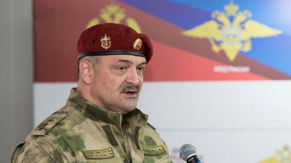 Первый заместитель директора Росгвардии генерал-полковником Сергей Меликов