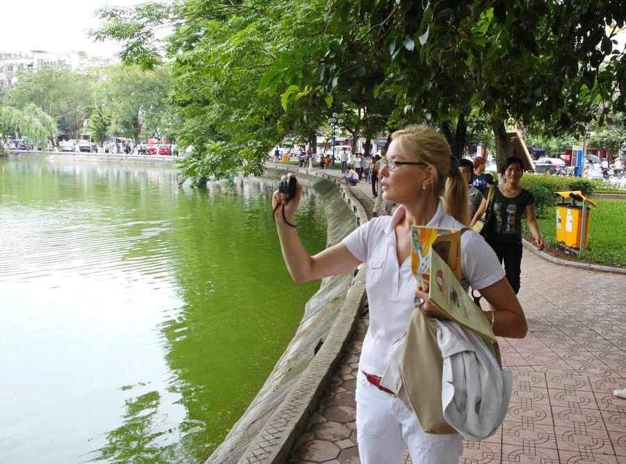 Ханой. Озеро Возвращенного меча