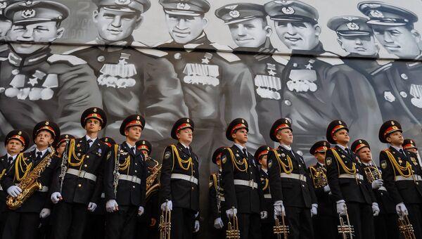 Открытие арт-проекта граффити с изображением героев Великой Отечественной войны