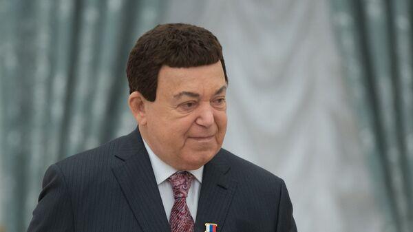 Певец, депутат Государственной Думы РФ Иосиф Кобзон