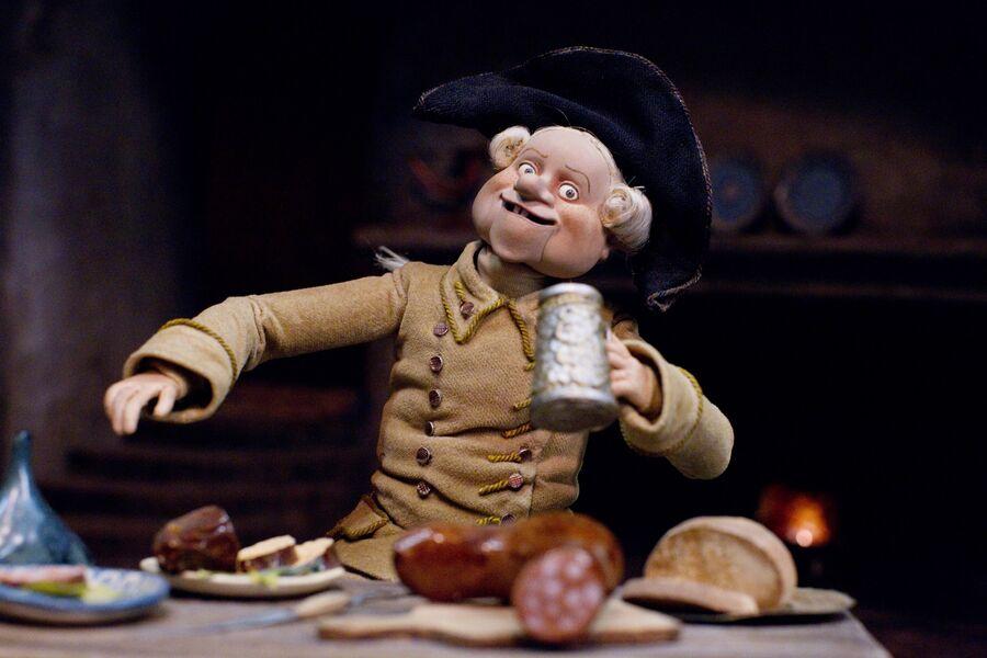 Кукла-персонаж из полнометражного кукольного мультфильма режиссера Станислава Соколова Гофманиада