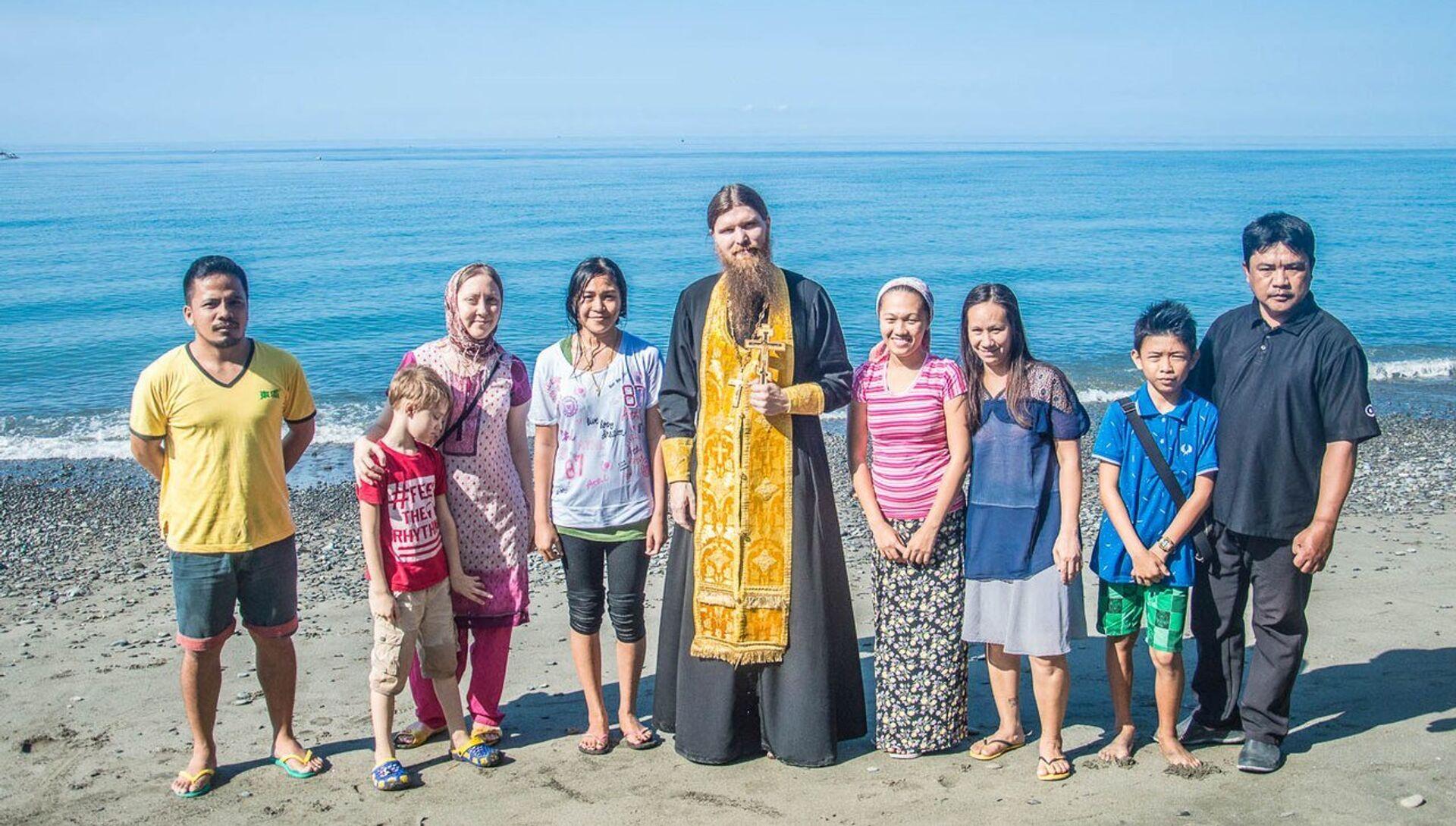 Крещение жительницы деревни Каюпо Маргариты - РИА Новости, 1920, 22.06.2018