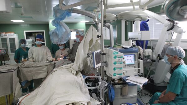 Работа отделения нейрохирургии НИИ СП им. Н.В. Склифосовского