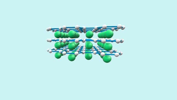 Двумерный магнитный материал, созданный российскими физиками
