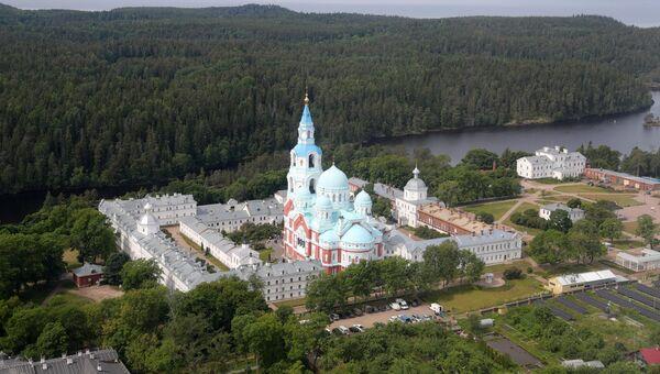 Спасо-Преображенский Валаамский ставропигиальный монастырь. Архивное фото
