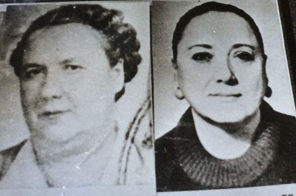 Татьяна Троицкая со своей матерью