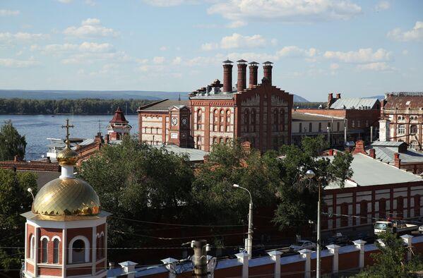Здание Жигулёвского пивоваренного завода в Самаре