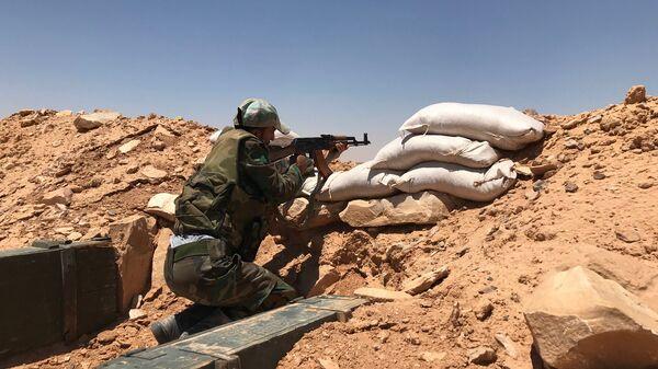 Cирийский солдат