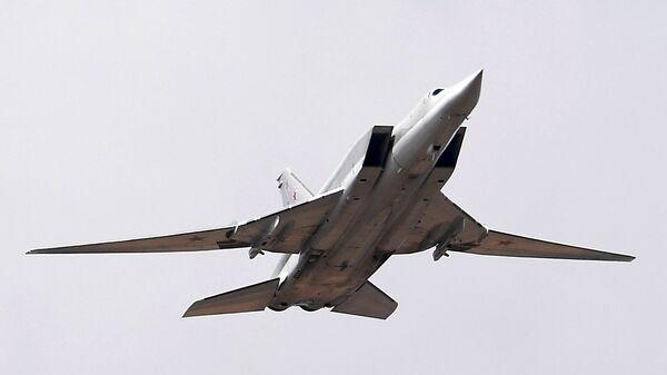 Дальний ракетоносец-бомбардировщик Ту-22М3. Архивное фото