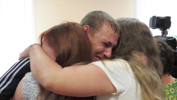 Дмитрий Кондратенко и его родные