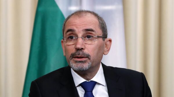 Министр иностранных дел Иорданского Хашимитского Королевства Айман Хусейн Абдалла ас-Сафади