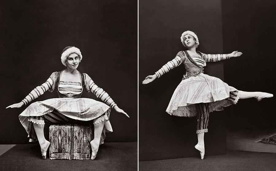 Лидия Лопухова в роли Куклы-балерины