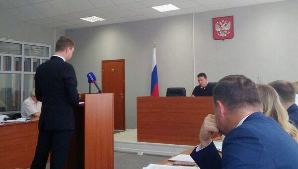 DJ Smash (Андрей Ширман) в Ленинском районном суде Перми