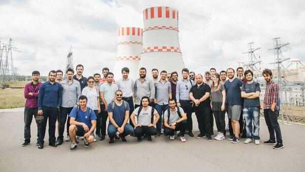 Студенты из Турции после практики на Нововоронежской АЭС