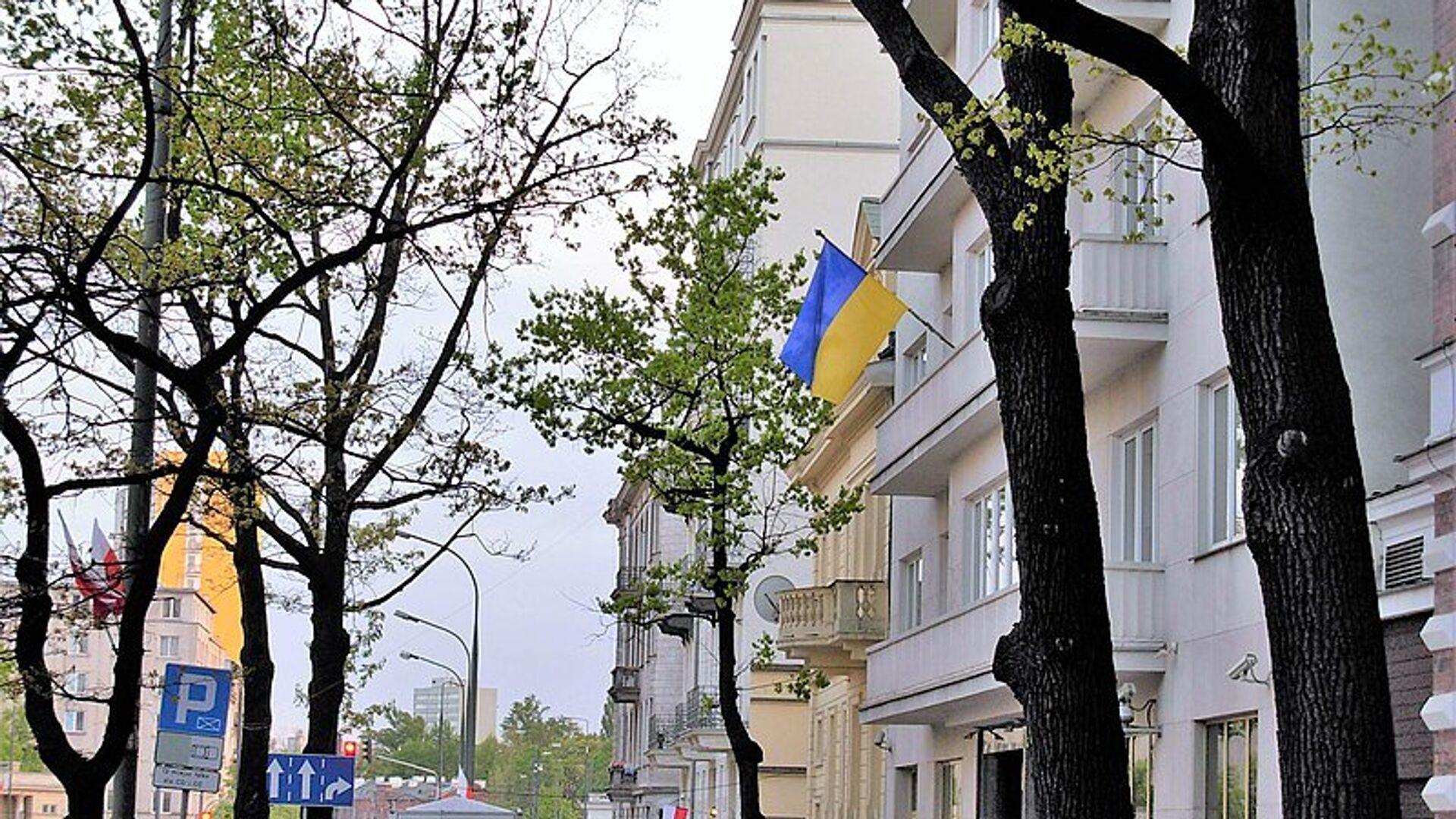 Посольство Украины в Польше - РИА Новости, 1920, 04.12.2020