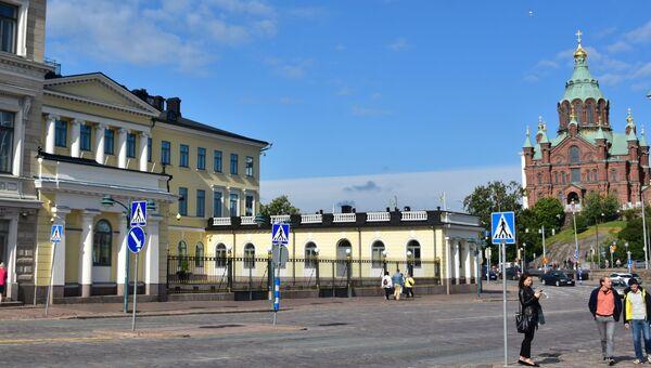 Президентский дворец в Хельсинки, Финляндия. Архивное фото