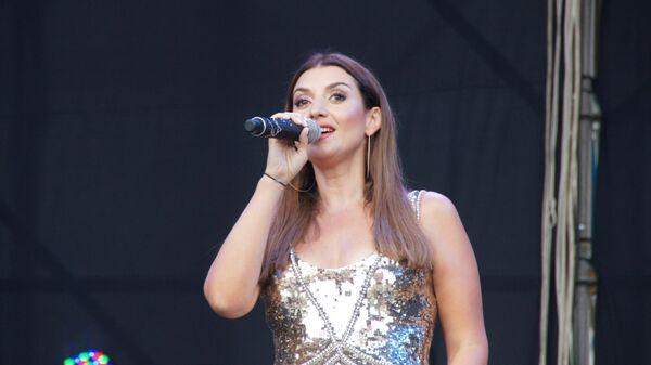Российская исполнительница Жасмин