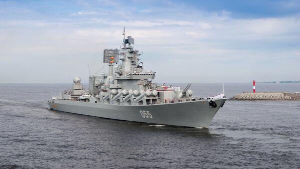 Боевой корабль Северного флота. Архивное фото