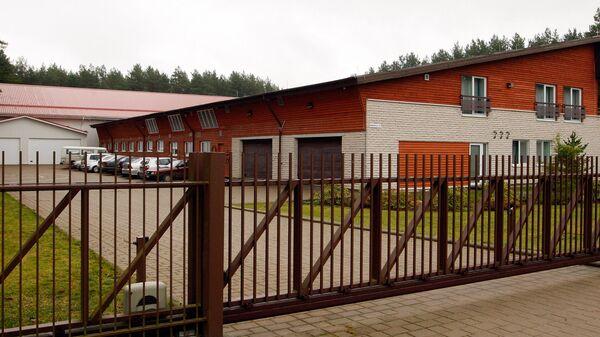Предполагаемая тюрьма ЦРУ в литовском Антавиляй