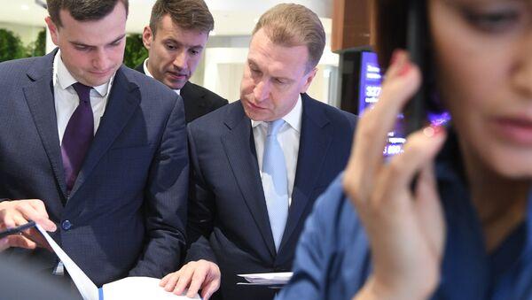 Председатель Внешэкономбанка Игорь Шувалов на Московском урбанистическом форуме