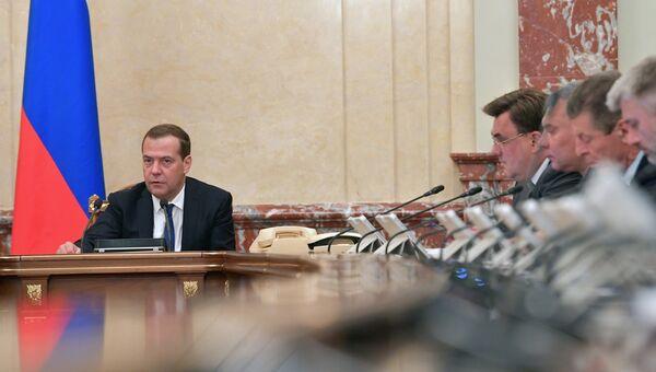 Дмитрий Медведев проводит заседание правительства РФ. 19 июля 2018