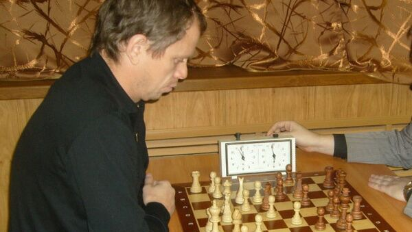 Юрий Шорчев за игрой. Архивное фото