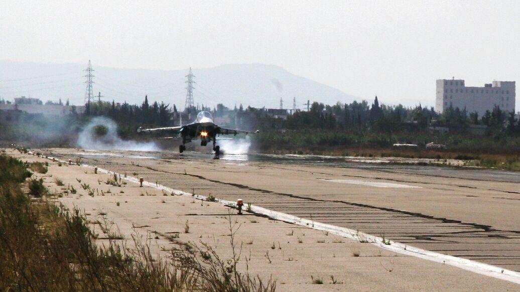 В Сирии боевики обстреляли авиабазу Хмеймим