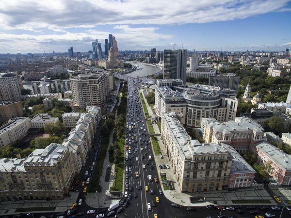 Москва в преддверии Дня города