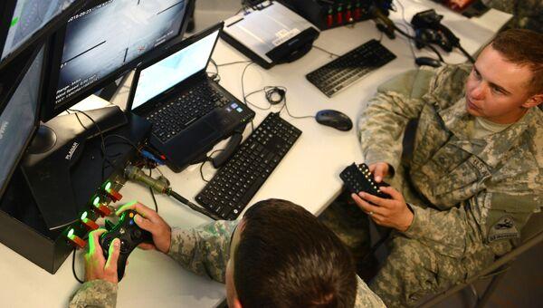 Военнослужащие Киберкомандования США. Архивное фото