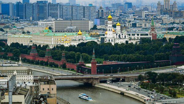 Вид центра Москвы. Архивное фото