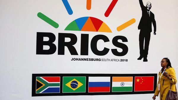 10-й саммит BRICS в Южной Африке. 24 июля 2018