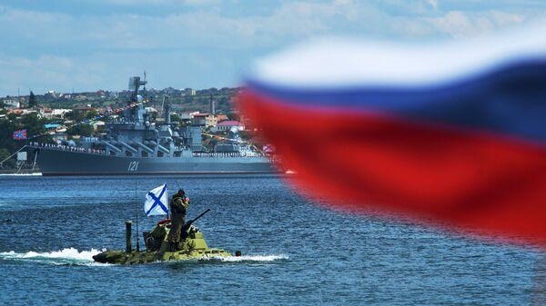Репетиция парада ВМФ в Севастополе. Архивное фото