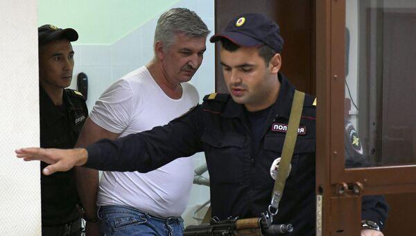 Сергей Лемешевский в Бабушкинском суде Москвы. 26 июля 2018