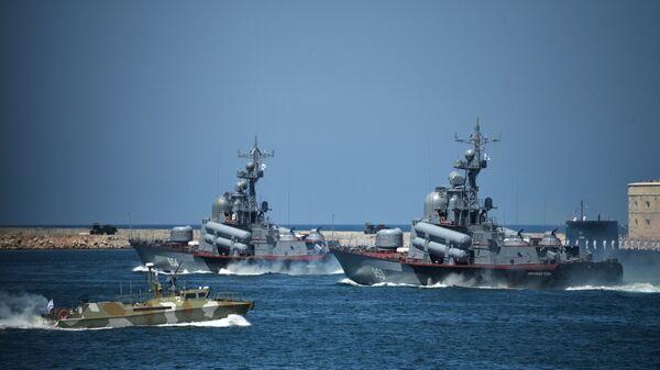 Ракетные катера Черноморского флота ВМФ России. Архивное фото