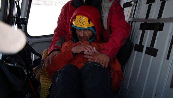 Операция по спасению российского альпиниста Александра Гукова в Пакистане