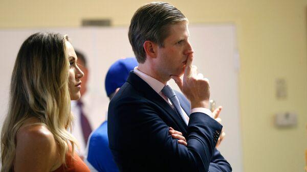 Эрик Трамп и его жена Лара