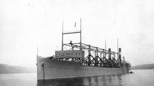 Американское судно Циклоп, пропавшее в Бермудском треугольнике в марте 1918 года. 1911 год