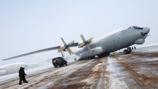 Военно-транспортный самолет АН-22