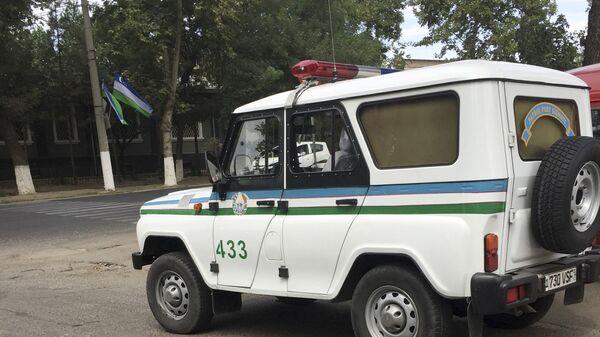 Полиция в Узбекистане. Архивное фото