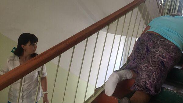 Женщина с переломом ноги в Ковылкинской межрайонной больнице