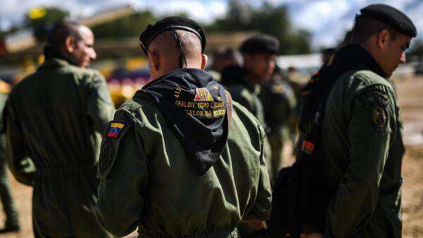 Танкисты армии Венесуэлы