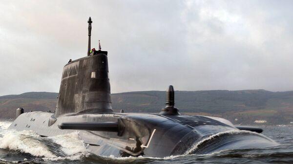 Британская подводная лодка HMS Astute