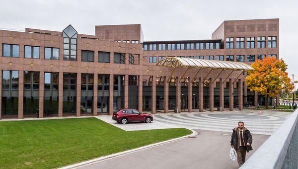 Здание суда Европейского союза в Люксембурге