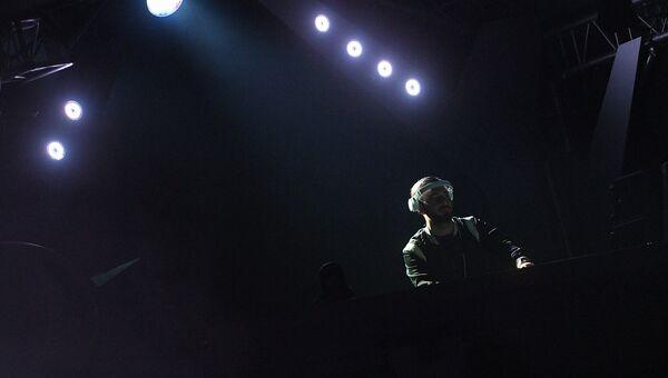 Шведский музыкальный исполнитель Алессандро Линдблад ALESSO на юбилейном пятом музыкальном фестивале Alfa Future People в Нижегородской области