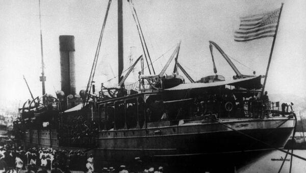 Высадка американских войск во Владивостоке. 1918 год