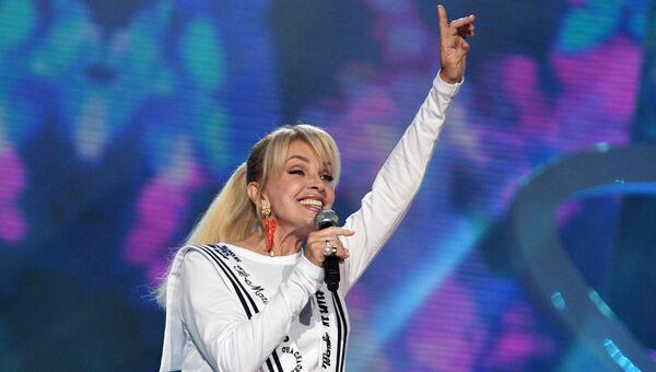 Певица Лайма Вайкуле на конкурсе Новая волна - 2017 в Сочи. Архивное фото
