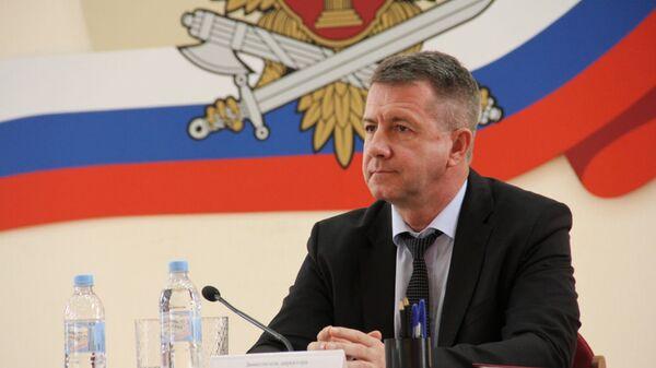 Заместитель главы ФСИН Валерий Максименко