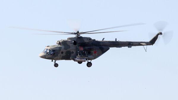 Вертолет Ми-8МТ армии России